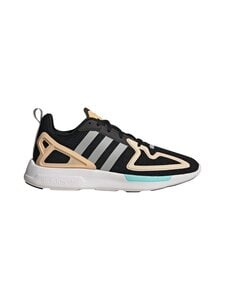 adidas Originals - W ZX 2K Flux -sneakerit - CORE BLACK/GREY TWO/GLOW ORANGE   Stockmann
