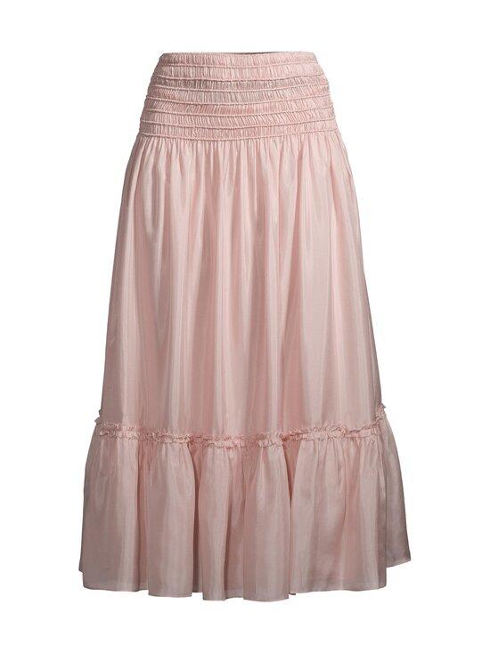 Tory Burch - Corded Skirt -silkkihame - 654 ICED PINK | Stockmann - photo 1
