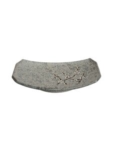 Tokyo Design Studio - Soshun Oblong Plate -lautanen 22 x 15 cm - GREY | Stockmann