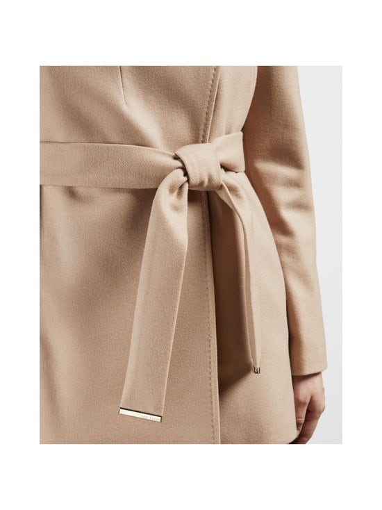 Ted Baker London - Rosess Short Wool Wrap Coat -villakangastakki - CAMEL | Stockmann - photo 4
