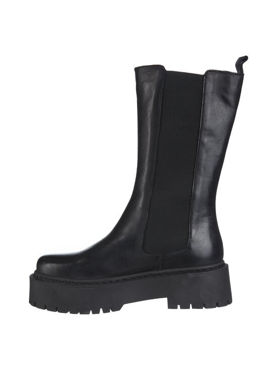 BIANCO - BiaDeb Long Boot -nahkasaappaat - 100 BLACK | Stockmann - photo 2