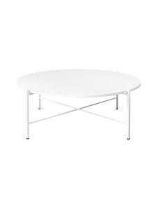 Hakola - Round-pöytä 90 x 32 cm - VALKOINEN | Stockmann