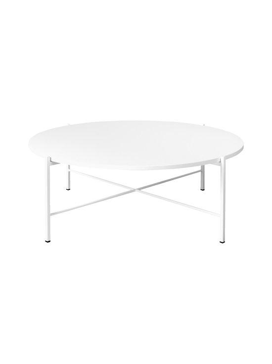 Hakola - Round-pöytä 90 x 32 cm - VALKOINEN   Stockmann - photo 1