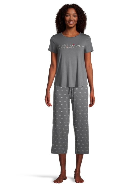 NOOM loungewear - Jo-pyjamahousut - STEEL GREY COMBO | Stockmann - photo 2