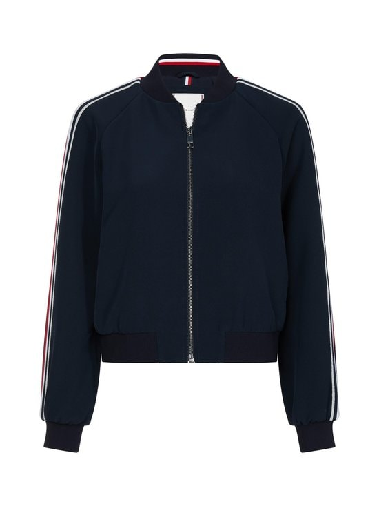 Tommy Hilfiger - Tommy Icons Signature Sleeve Bomber -takki - DW5 DESERT SKY | Stockmann - photo 1