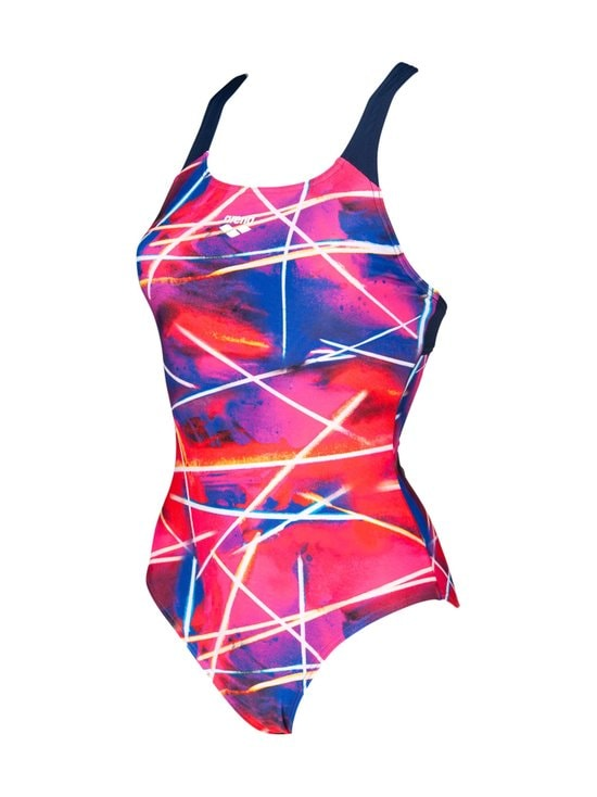 Arena - W Light Beams LB Swim P -uimapuku - 700 NAVY-MULTI | Stockmann - photo 1