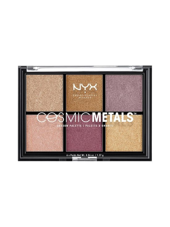 NYX Professional Makeup - Cosmic Metals Shadow Palette -luomiväripaletti - 01 | Stockmann - photo 1