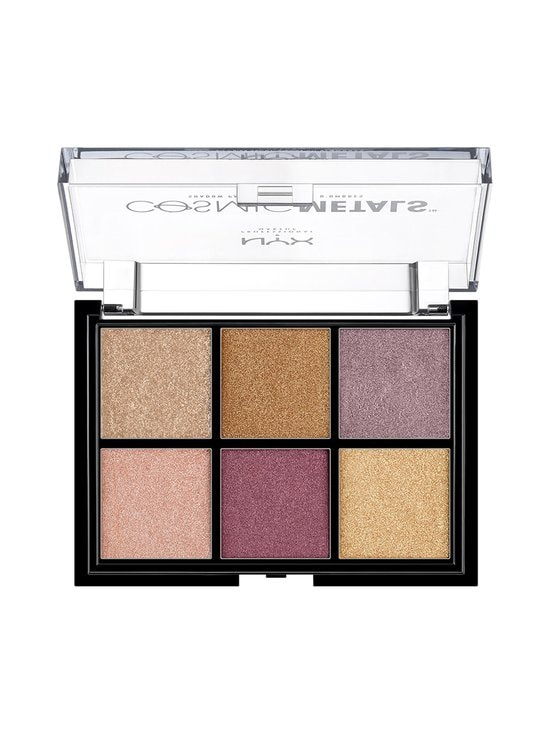 NYX Professional Makeup - Cosmic Metals Shadow Palette -luomiväripaletti - 01 | Stockmann - photo 2