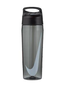 Nike - TR Hypercharge Straw Bottle -juomapullo 710 ml - 25 ANTHRACITE/ANTHRECITE/WHITE | Stockmann