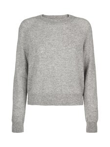 Samsoe & Samsoe - Boston O-Neck -kashmirneule - GREY MEL. | Stockmann