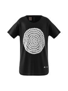 adidas x Marimekko - pitkä T-paita - BLACK/WHITE | Stockmann