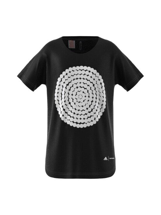 adidas x Marimekko - pitkä T-paita - BLACK/WHITE | Stockmann - photo 1
