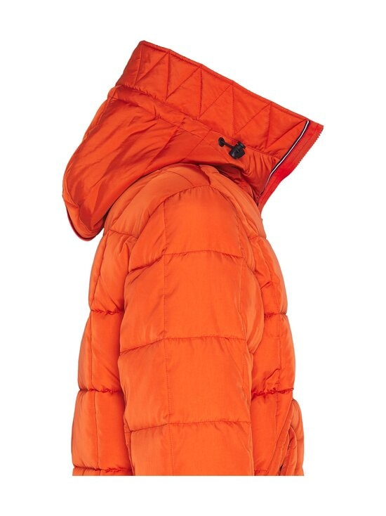 Tommy Hilfiger - Rope Dye Quilted Hooded Bomber -takki - SNC TUCSON ORANGE | Stockmann - photo 3