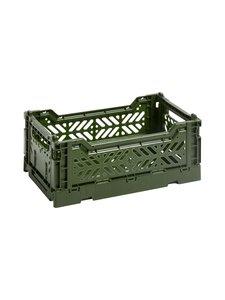 HAY - Colour Crate S -laatikko 26,5 x 17 x 10,5 cm - KHAKI | Stockmann