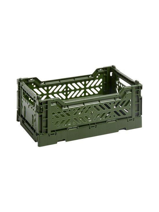 HAY - Colour Crate S -laatikko 26,5 x 17 x 10,5 cm - KHAKI | Stockmann - photo 1