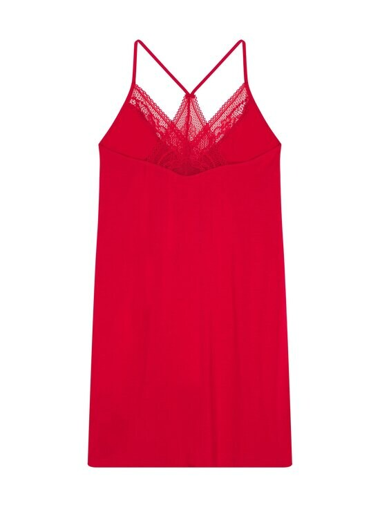 Tommy Hilfiger - Strappy Dress Lace -yöpaita - XLG PRIMARY RED   Stockmann - photo 2