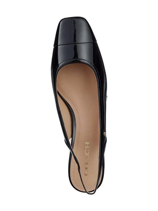 Coach - Dani Patent Slingback -nahka-avokkaat - BLK BLACK | Stockmann - photo 2