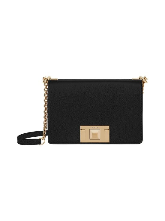 Furla - Mimi Mini Crossbody -nahkalaukku - ONYX | Stockmann - photo 1