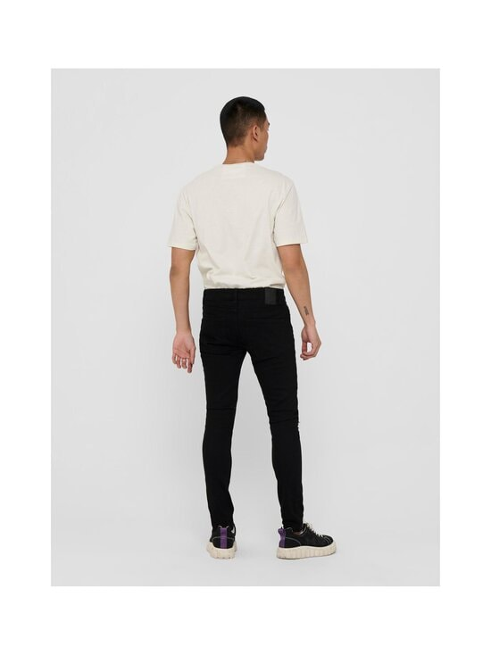 Only & Sons - OnsWarp Life Skinny Fit -farkut - BLACK | Stockmann - photo 2