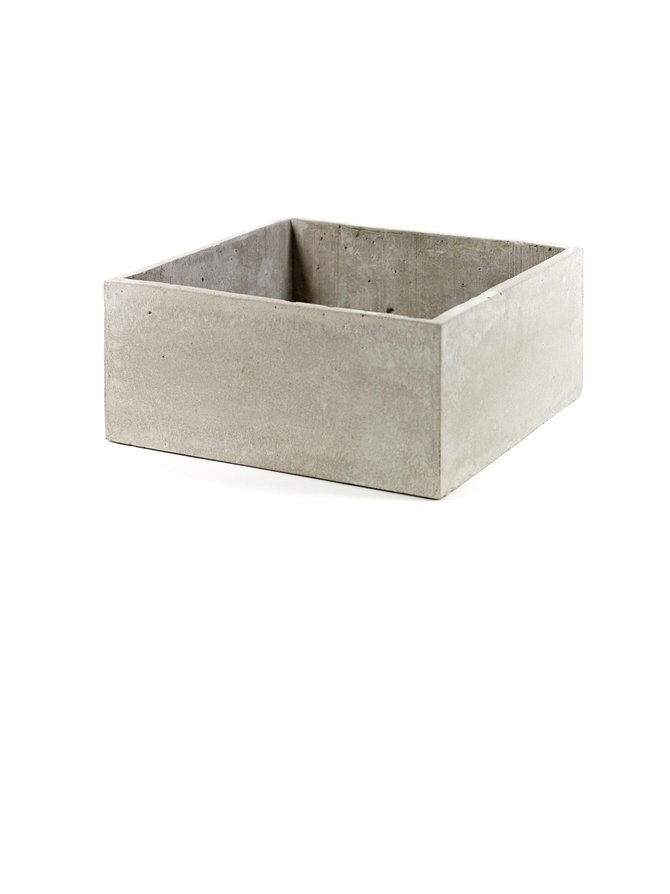 Cement Pot -ruukku 29 x 13 x 29 cm