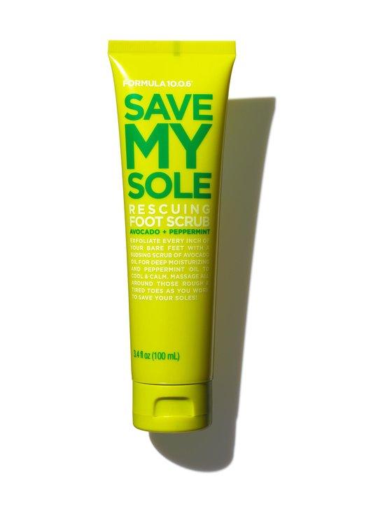 Formula 10.0.6 - Save My Sole Scrub for Feet -jalkakuorinta 100 ml - NOCOL | Stockmann - photo 1