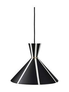 Warm Nordic - Bloom Stripe Pendant -riippuvalaisin - BLACK NOIR, WARM WHITE STRIPES | Stockmann