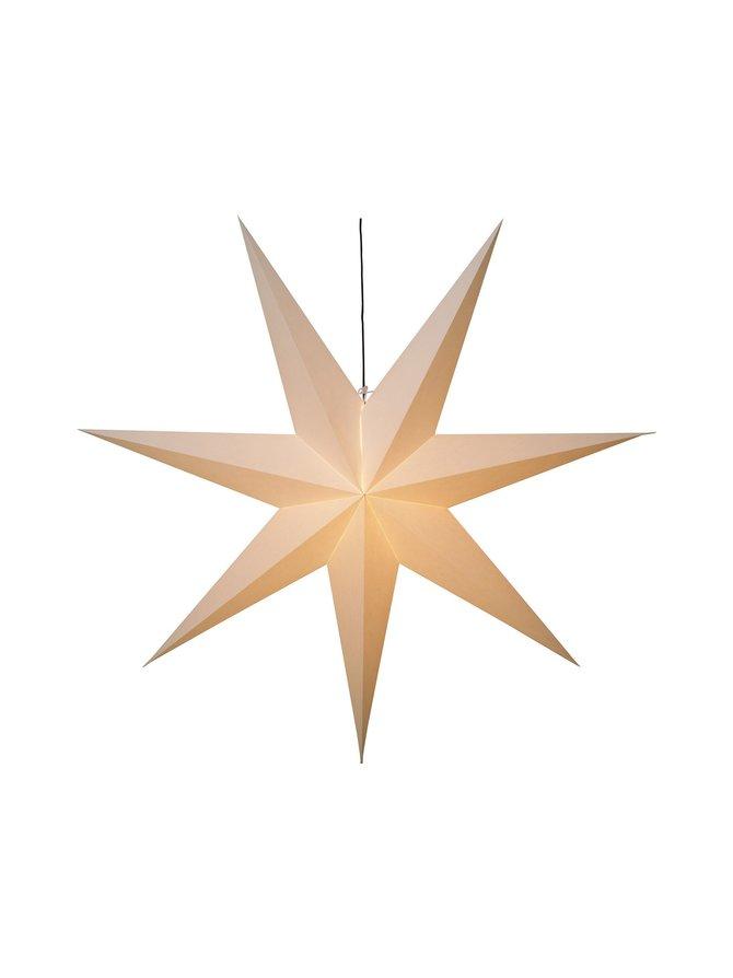Hanging Paper Star Frozen -koristevalo 140 x 140 x 28 cm