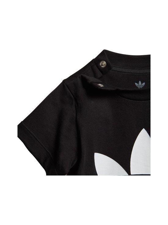 adidas Originals - Trefoil Tee -paita - BLACK/WHITE   Stockmann - photo 3