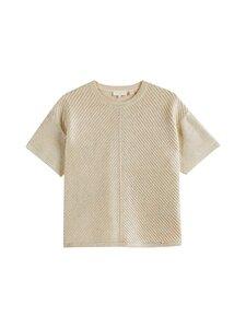Ted Baker London - Giannaa Relaxed Metallic Knitted Top -puuvillaneule - METALLIC   Stockmann