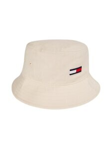 Tommy Jeans - TJW Flag Bucket Hat -hattu - AA8 SUGARCANE | Stockmann