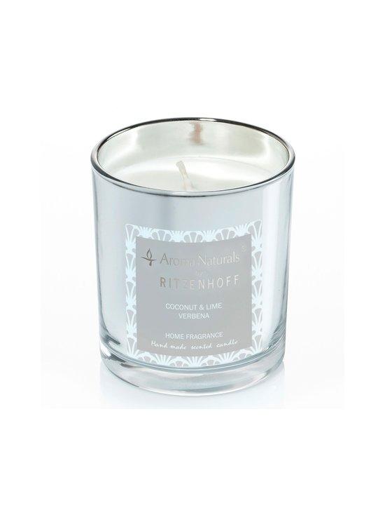 Ritzenhoff - Coconut & Lime Verbena Luxury Candle -tuoksukynttilä - SILVER | Stockmann - photo 1