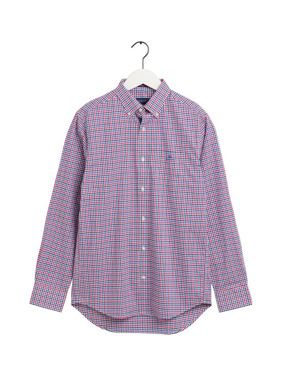 GANT - The Broadcloth Gingham Regular -kauluspaita - 501 ORCHID PURPLE | Stockmann - photo 1