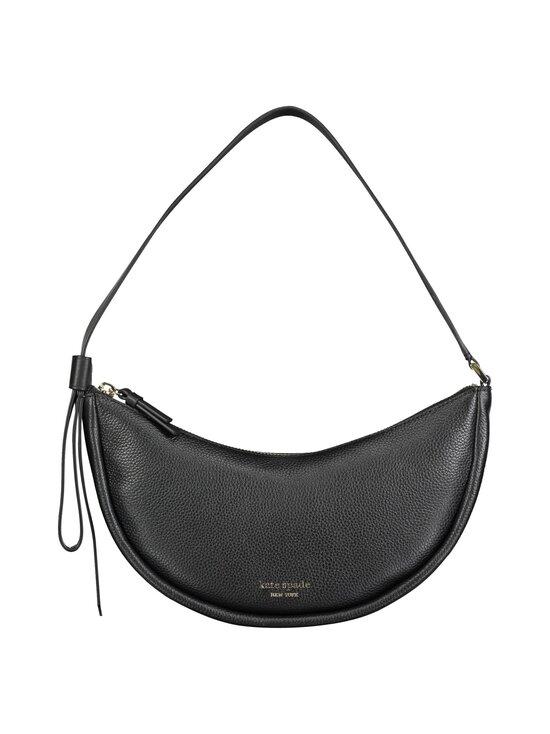 kate spade new york - Smile Small Shoulder Bag -nahkalaukku - 001U BLACK | Stockmann - photo 1