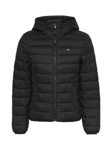 Tommy Jeans - Tjw Hooded Quilted -takki - BDS BLACK | Stockmann