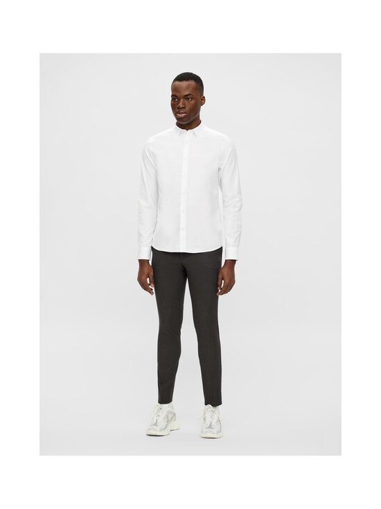 J.Lindeberg - Stretch Oxford Slim Shirt -kauluspaita - 0000 WHITE   Stockmann - photo 3