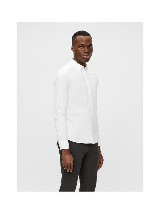 J.Lindeberg - Stretch Oxford Slim Shirt -kauluspaita - 0000 WHITE   Stockmann - photo 5