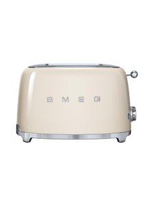 Smeg - TSF01CREU-leivänpaahdin, 2 viipaleelle - LUONNONVALKOINEN | Stockmann