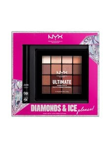 NYX Professional Makeup - Diamonds & Ice Please Shadow & Liner Kit -lahjapakkaus - null   Stockmann