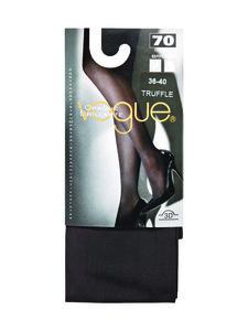 Vogue - Opaque brillante 70 den -sukkahousut - BLACK | Stockmann