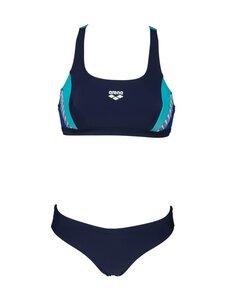 Arena - Threefold Two Pieces -bikinit - 781 NAVY-ROYAL-MARTINICA | Stockmann