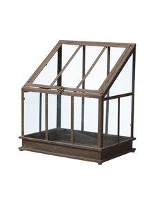 Wikholm Form - Ragna Greenhouse L -kasvihuone 36 x 26 x 41 cm - RUST | Stockmann