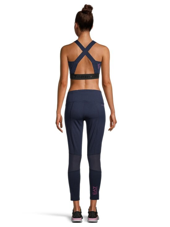 Ea7 - Pantaloni Leggins -leggingsit - 1554 NAVY BLUE | Stockmann - photo 3
