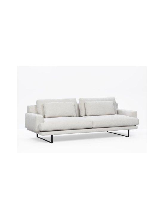 Interface - Rex-sohva 240 cm - NATURAL WHITE FABRIC CREDO 02: BLACK METAL LEGS   Stockmann - photo 3