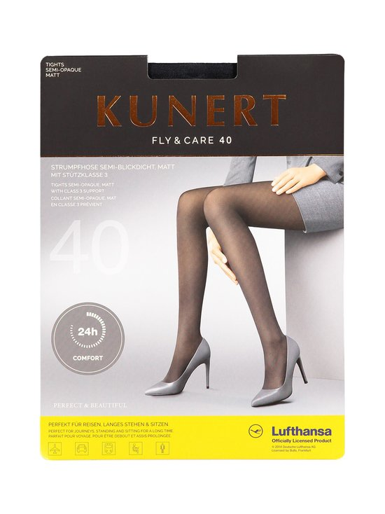 Kunert - Fly & Care -lentosukkahousut 40 den - MARINE (SININEN) | Stockmann - photo 1