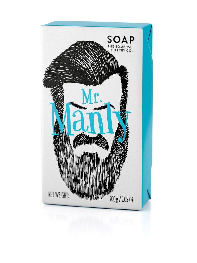 Mr Manly -palasaippua 200 g