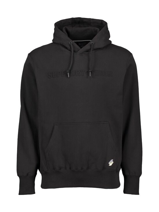 Superdry - Sportstyle Energy Embossed Hood -huppari - 02A BLACK | Stockmann - photo 1