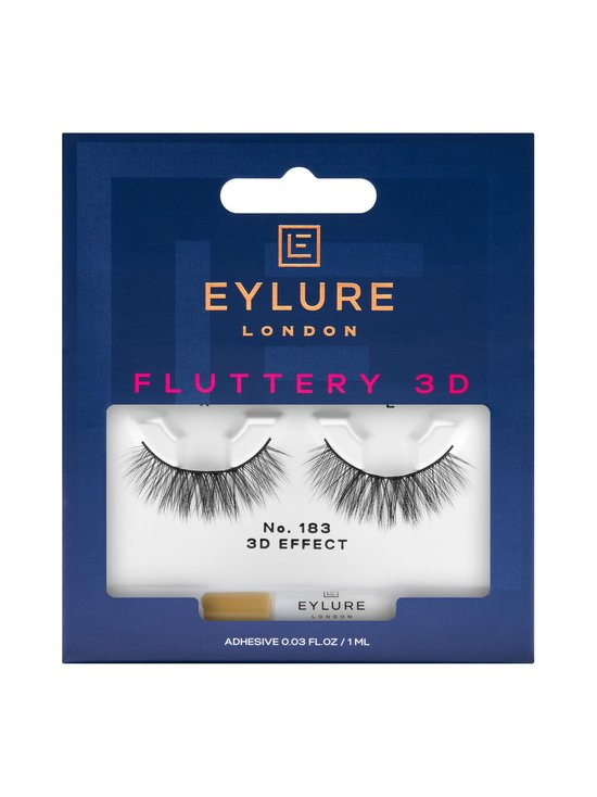 Eylure - Fluttery 3D No. 183 -irtoripset - BLACK   Stockmann - photo 1
