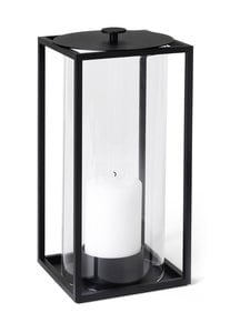 By Lassen - Light'In-lyhty 24 x 12 cm - BLACK | Stockmann