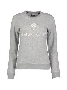 GANT - Logo-collegepaita - GREY MELANGE | Stockmann