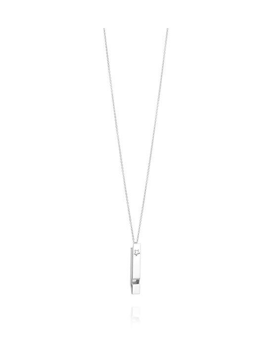 Efva Attling - Whistle-kaulakoru 80 cm - SILVER | Stockmann - photo 1